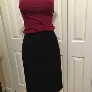 Calvin Klein, black skirt